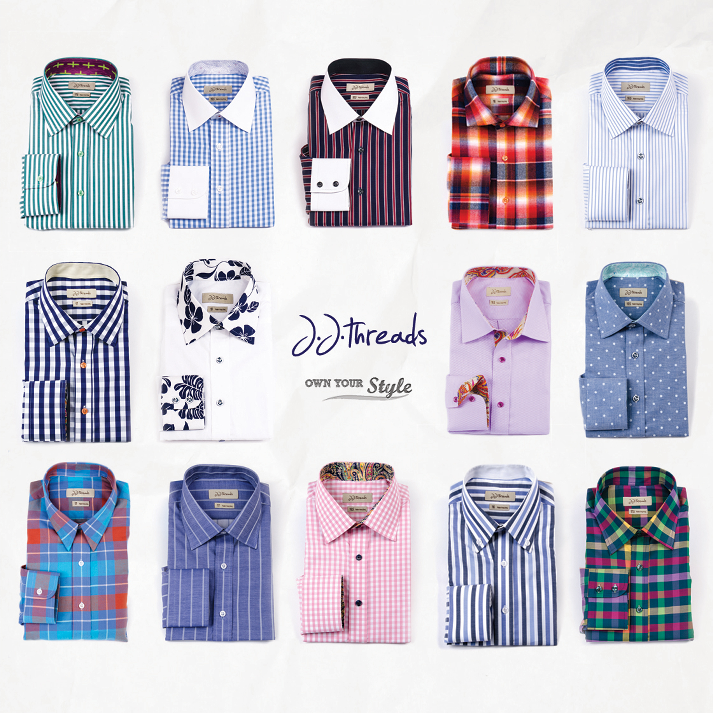 JJ Threads shirts